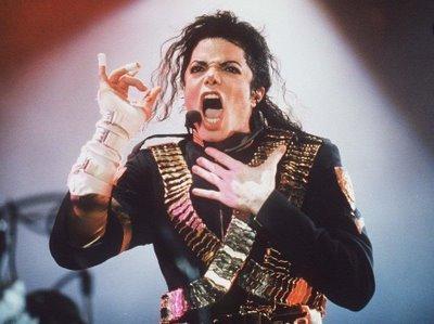 an der hand die er nach oben hällt - (Musik, Michael Jackson)