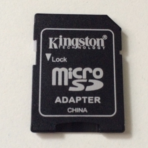 Micro SD Adapter Verwendung?