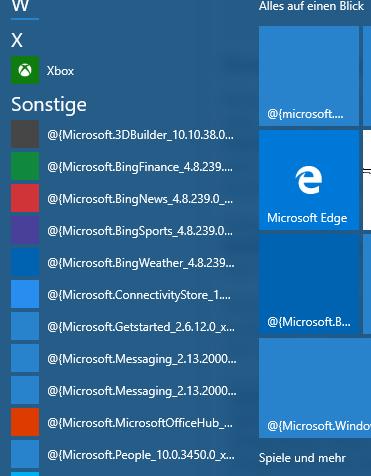 Startmenü Screenshot - (Computer, Windows, Apps)