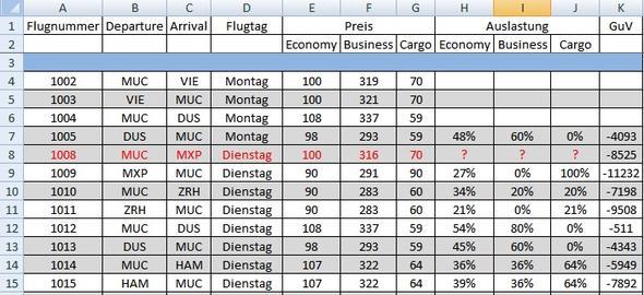 Screenshot 1 - (Excel, werte ersetzen)