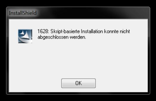 Fehler bei der Installation - (Windows 7, Microsoft, Flight Simulator X)