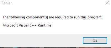 Microsoft visual c++ Fehler?