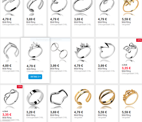 Hier einpaar von denen - (Piercing, Ring, crazy-factory)