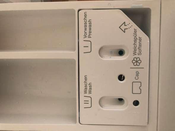 Miele waschmaschine wasser im weichspülerfach