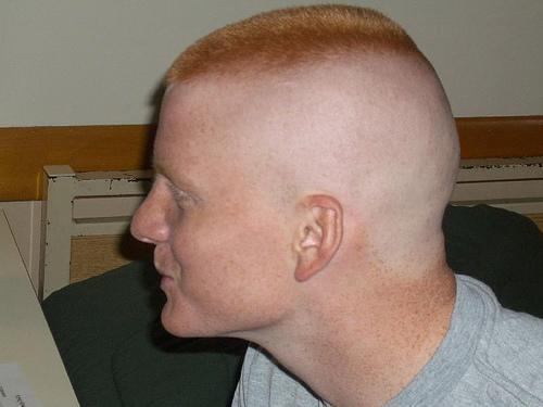 Military Cuts Haare Frisur Glatze