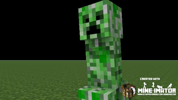 Creeper Animation - (Minecraft, Mine-imator)