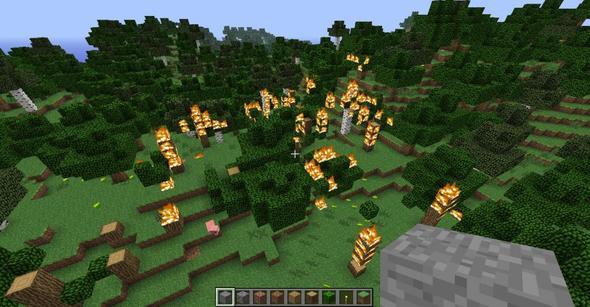 Bild 1 - (Minecraft, herobrine)
