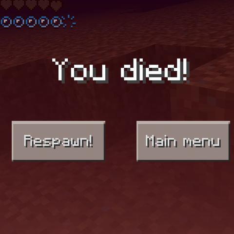Und ich sterbe immer wieder  - (Minecraft, Welt, sterben)