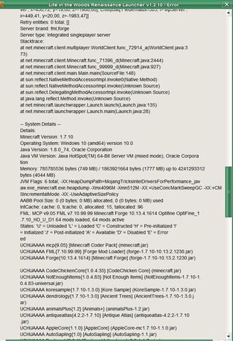 Crash-Report - 4 - (Minecraft, Java, crash)