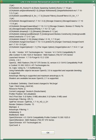 Crash-Report - 6 - (Minecraft, Java, crash)