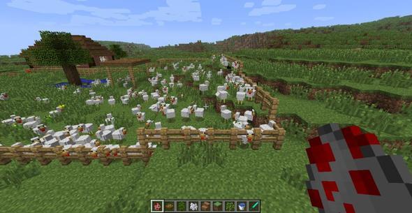 Nah an den Tieren dran - (Minecraft, minecraft tiere)