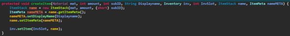 Versuch 1 - (Minecraft, programmieren, Java)