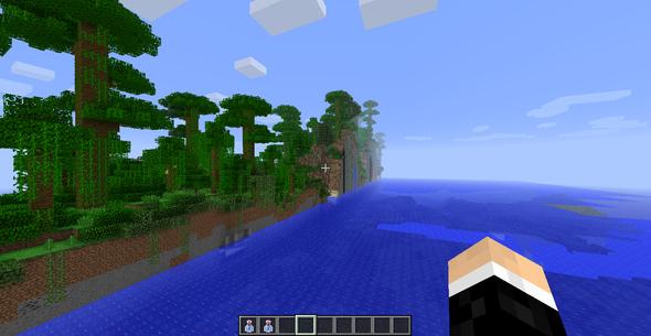 WorldCut 2 - (Minecraft, herobrine)