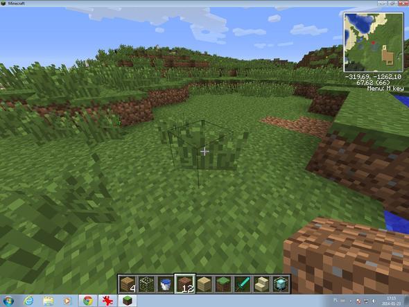 Minecraft Unkraut Bzw Grass Soll Weg Gibt Es Ein Mod PC - Minecraft auf zwei pc spielen