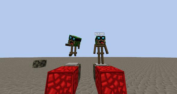 Minecraft Armor Stand Rüstungs Ständer Minecraft Minecraft - Minecraft spielerkopfe 1 8