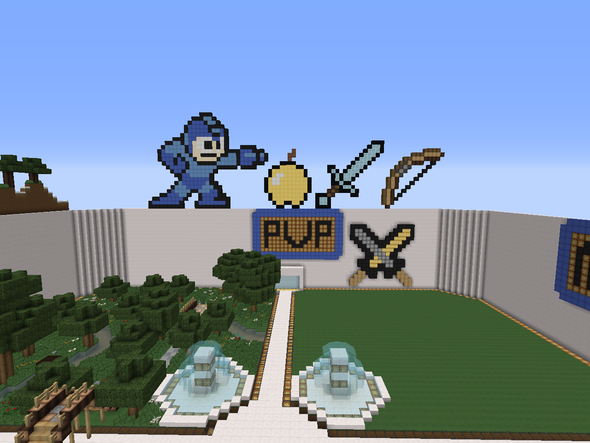 Die Pixel Arts. - (Minecraft, Ideen, spawn)