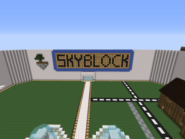 Bei Skyblock muss noch was hin. - (Minecraft, Ideen, spawn)