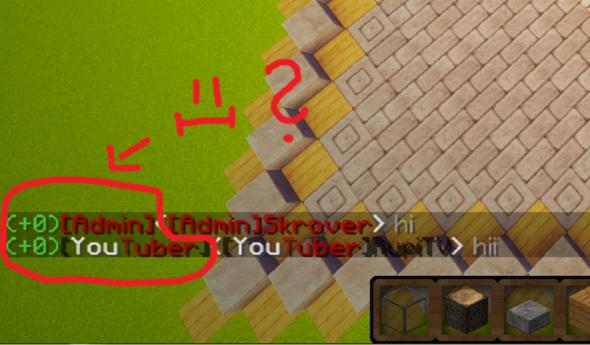 Minecraft Chat anzeige für Gruppen/Spielernamen etc ? (Plug-in)