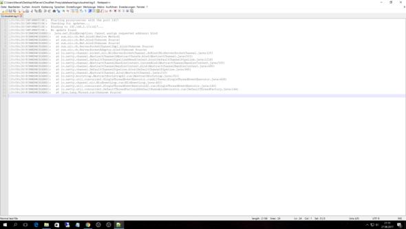Minecraft CloudNet Server Funktioniert Nach PC Absturz Nicht Mehr - Minecraft server erstellen funktioniert nicht