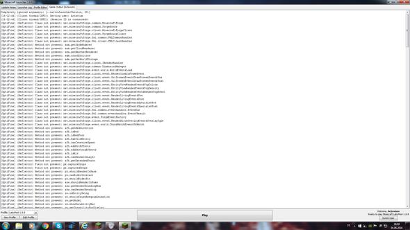 Gameoutput nach Absturz des Spiels - (Minecraft, Java, crash)