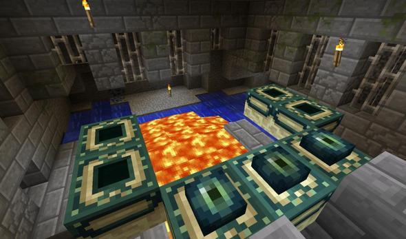 Minecraft Ender Portal Kaputt Computer Spiele Videospiele - Minecraft ender games kostenlos spielen