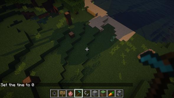 sie verfolgen mich! - (Minecraft, Bug, shader)