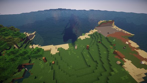 sie passen sich an - (Minecraft, Bug, shader)