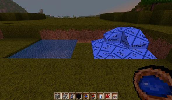 Wasser ohne Patcher welches mir sagt ich soll den Patcher benutzen. - (Minecraft, Wasser, Texture-Pack)