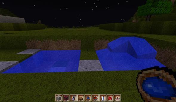 Wasser MIT Patcher = keine Honeyball - (Minecraft, Wasser, Texture-Pack)