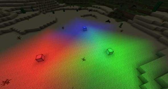 Minecraft Farbiges Licht Per Command Commands