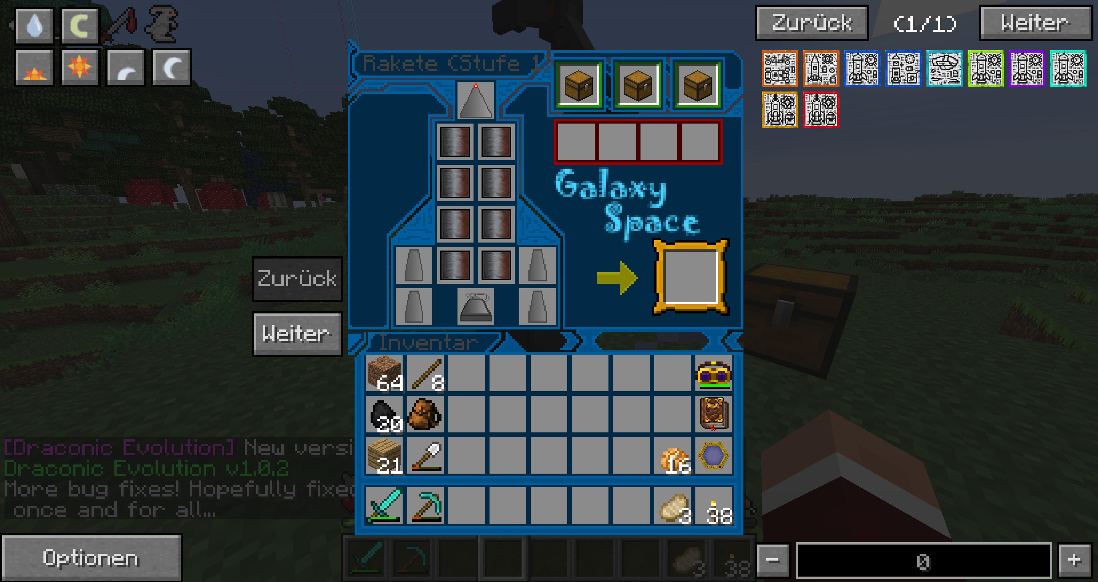 Minecraft Galacticraft Werkbank Computer Minecraft Mods