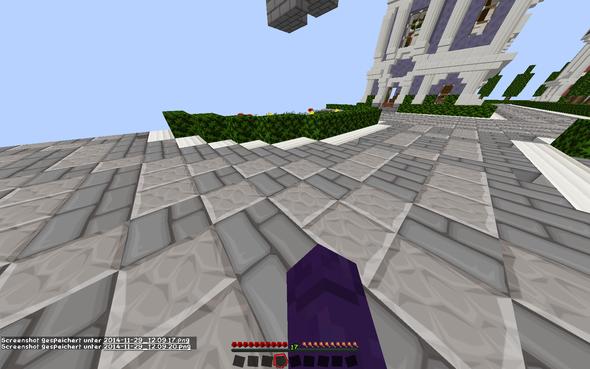da seht ihrs die bewegt sich zu stark - (Minecraft, Handproblem)