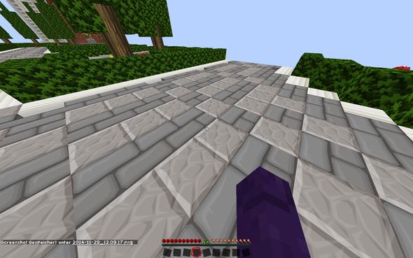 da schon wieder, das hindert mich auch beim PvP spielen - (Minecraft, Handproblem)