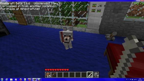 Der hund, der nicht mehr aufstehen will - (Spiele, Minecraft)