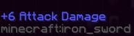 Minecraft Item-Info entfernen?