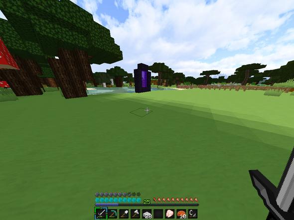 11 - (Minecraft, rechts, items)