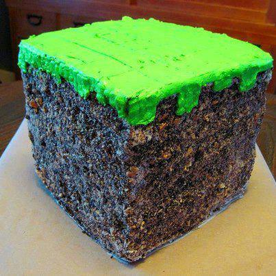 Minecraft Kuchen Rezept Oder Andere Gaming Kuchen Videospiele