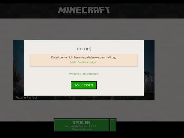 Minecraft Läd Keine Versionen Runter Computer Technik Technologie - Minecraft fruhere version spielen