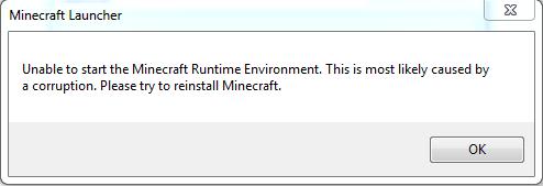 Fehlermeldung - (Minecraft, Java, Fehlermeldung)