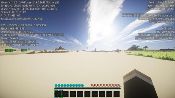 Hier laggt es nicht - (Minecraft, PC-Problem, minecraft shader)