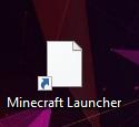 Minecraft Launcher Icon weiß?