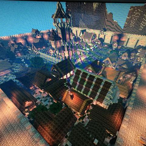 Minecraft mittelalterliche deko bauen projekt dekoration - Minecraft dekoration ...