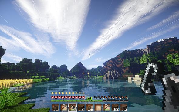 Wolken Fehler - (Minecraft, Mods)