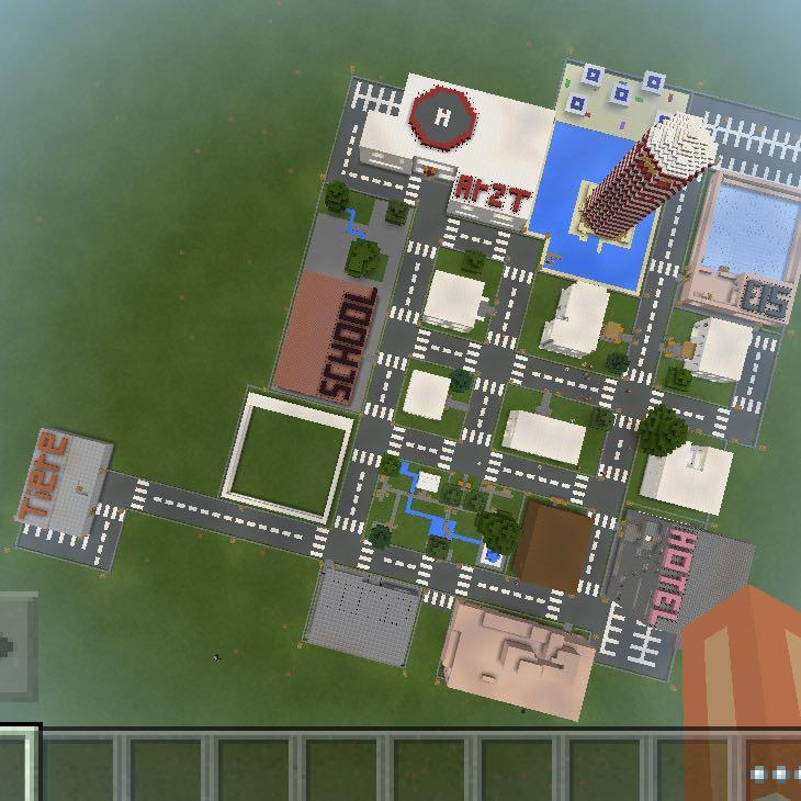 Minecraft pe ideen zu meiner stadt haus kreativit t - Minecraft haus ideen ...