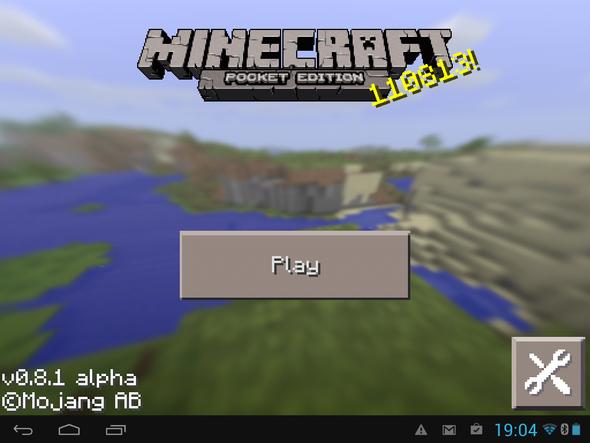 So sieht`s bei mir aus - (Minecraft, Android)