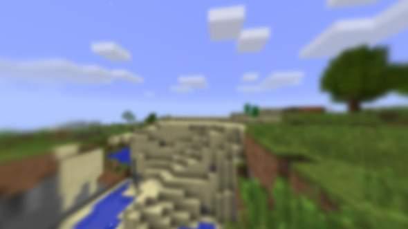 Minecraft PE Verschwommener Title Screen?
