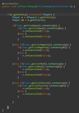 Minecraft Plugin programmieren, EntitiyDamageByEntityEvent?