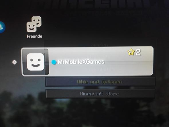 Minecraft PS Online Mit Anderen Spielern Technik Freunde Spiele - Minecraft zusammen spielen ps3