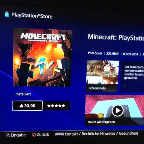 Minecraft Ps Edition Geht Nicht Mehr Ich Land Immer In Der Demo - Minecraft spielen vollversion