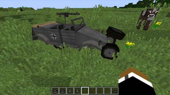 Minecraft Räder Bei Flans Mod Verschoben Mods